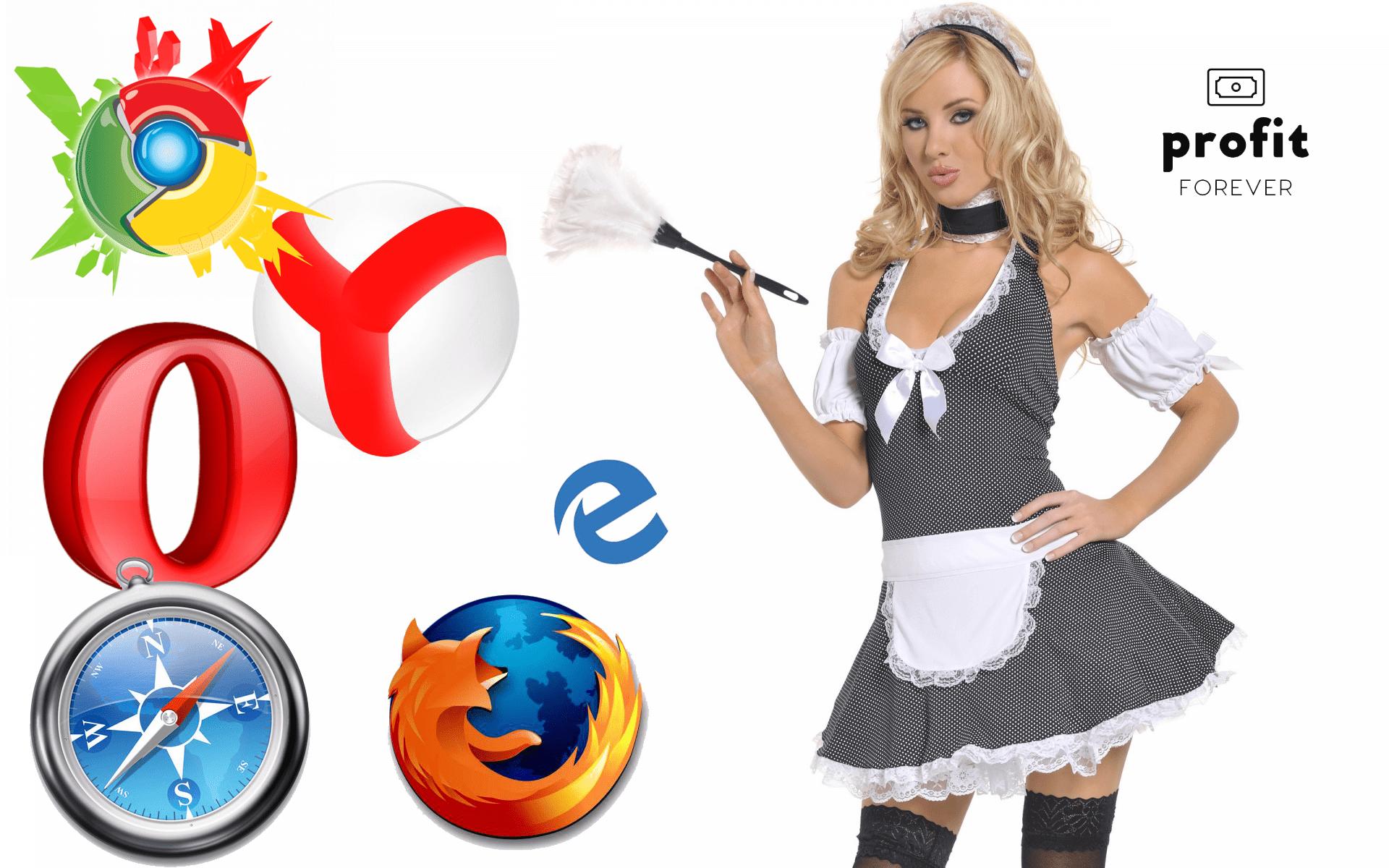 Как очистить cache и удалить cookies в различных браузерах